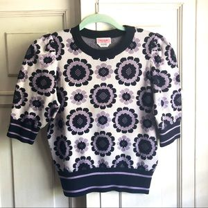 kate spade Sweaters - Kate Spade Geo Floral Sweater